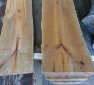 Maple log cut in sequential pieces - $250